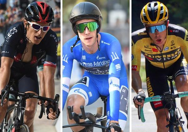 Deelnemers Giro d'Italia