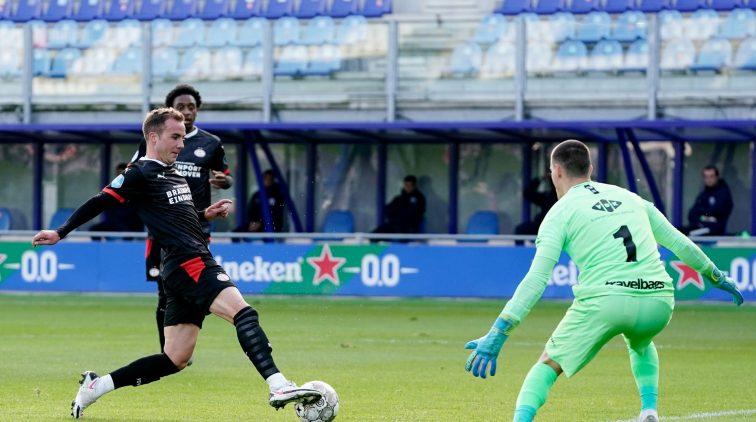 Mario Götze PSV goal