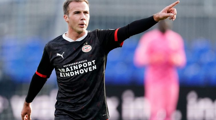 Mario Götze PSV debuut eredivisie
