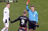 Rode kaart Jorgensen Feyenoord CSKA