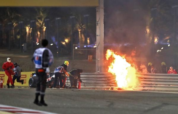 Grand Prix van Bahrein herstart