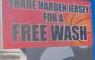 Carwash Houston James Harden NBA Brooklyn Nets