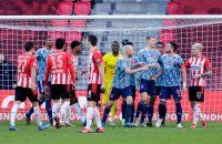 Ruzie PSV Ajax Dusan Tadic moeder Denzel Dumfries ruzie pussy