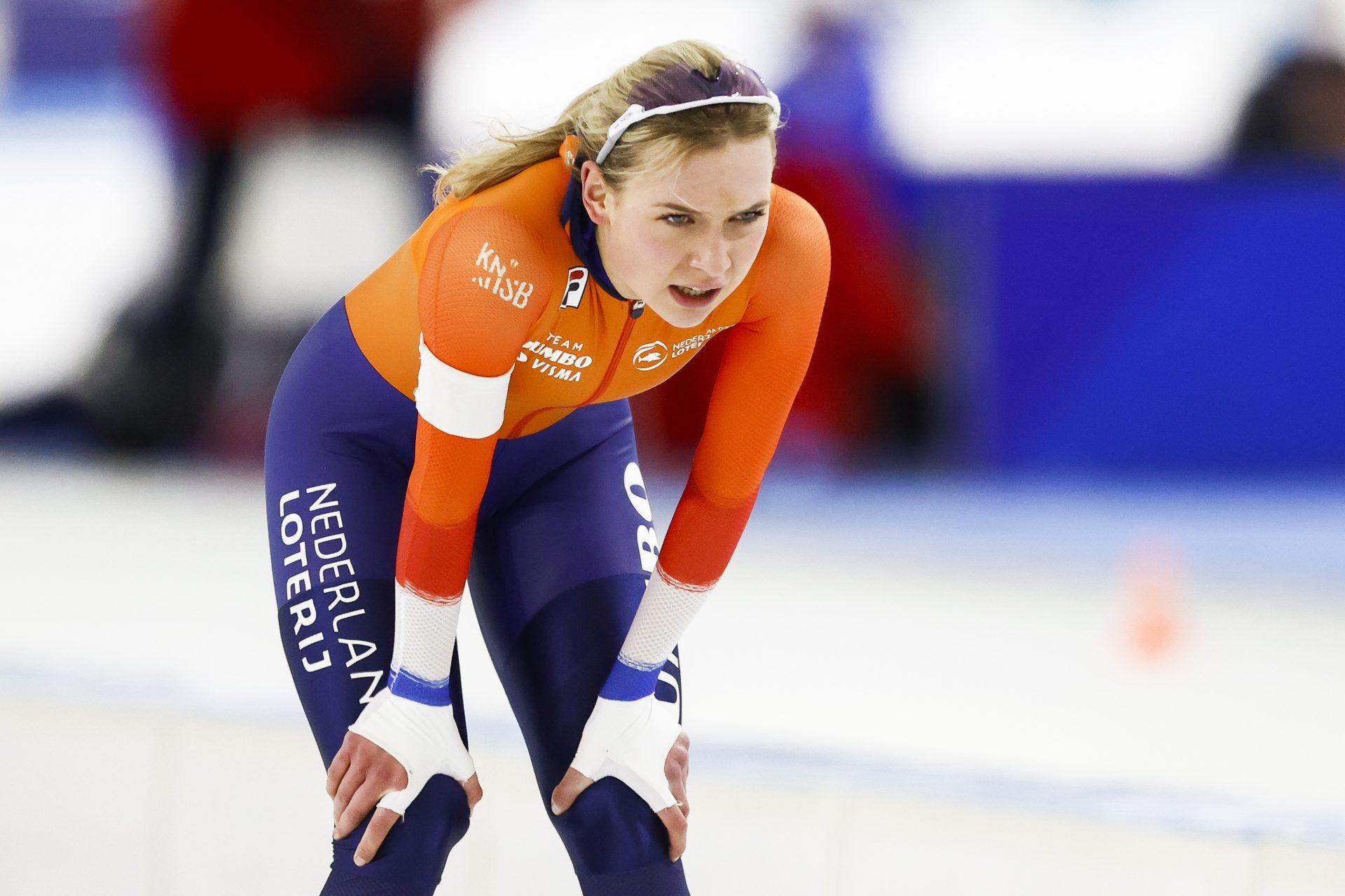 Schaatskoppel Joy Beune en Kjeld Nuis gelooft niet in valsspelen in Thialf: 'Wat een geneuzel' - Sportnieuws.nl