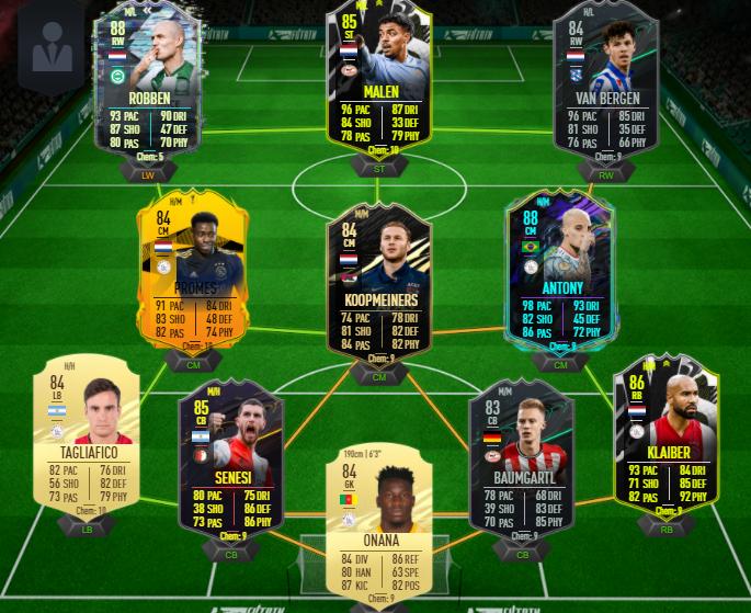 FUT Eredivisie