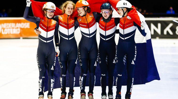 Medailles Nederland WK shorttrack
