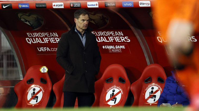 Frank de Boer ontslag Nederlands elftal Oranje drama Turkije kwalificatie 4-2