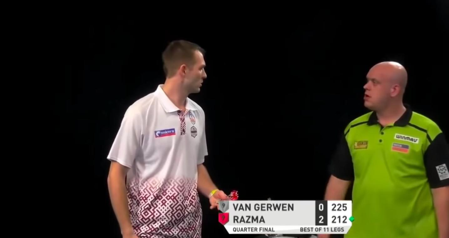 🎥 | Razma reageert op ruzietje met Van Gerwen: 'Belachelijk om van hem te horen' - Sportnieuws.nl