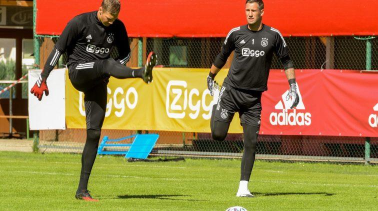 Keeper Ajax AS Roma