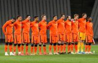 Spelers van Oranje.