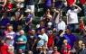 MLB Texas Rangers BLue Jays corona vol stadion uitverkocht