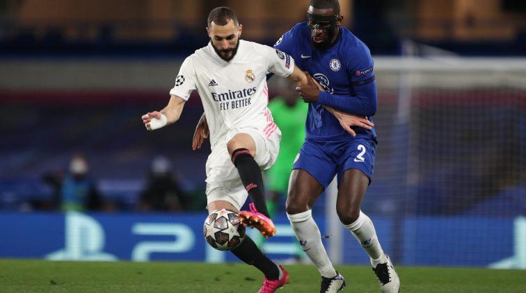 Antonio Rüdiger masker mask Chelsea Real Madrid Champions League reden waarom