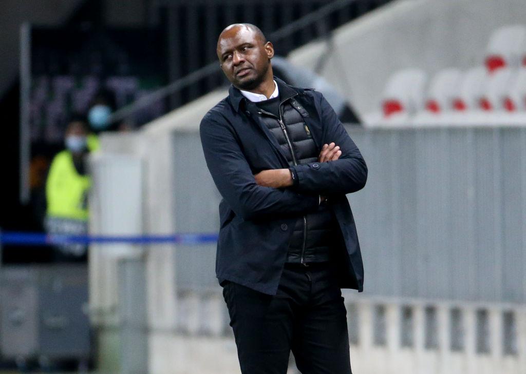 Vieira als trainer van OGC Nice.