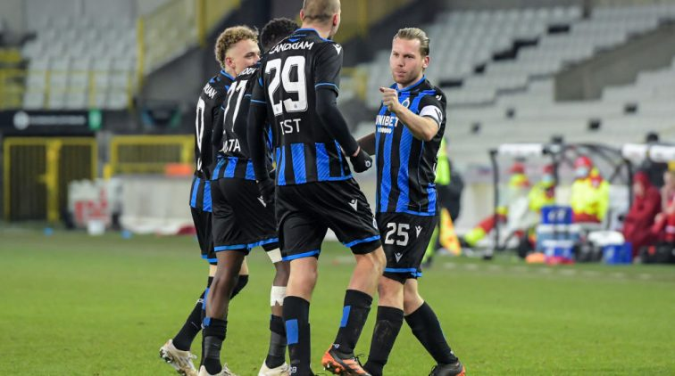 Spelers van Club Brugge.