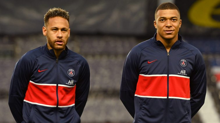 Opstelling PSG Manchester City Mbappe