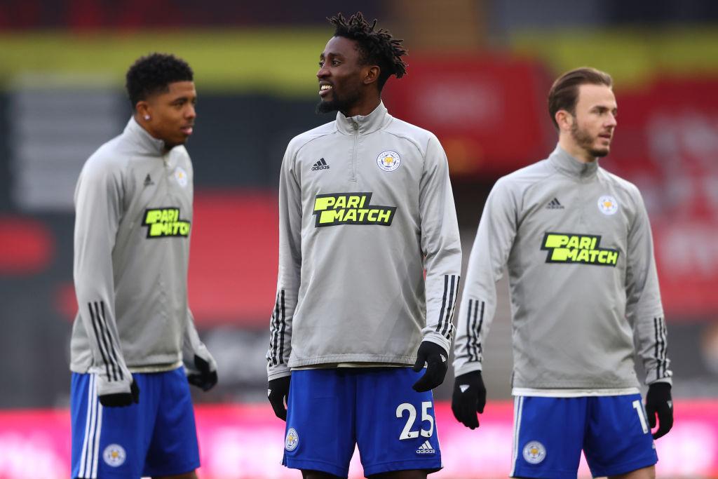Spelers van Leicester City.