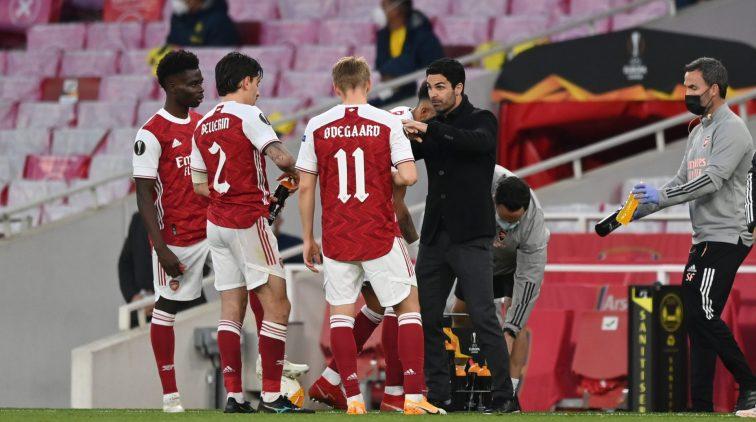 Arsenal AS Roma Villarreal Europa League halve finale wie staan er in de finale