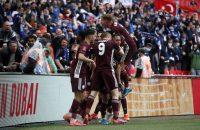 Winst finale Youri Tielemans Leicester City Chelsea FA Cup Finale goal doelpunt schot kruising 1e keer