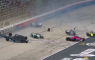 Crash IndyCar start mega ongeluk VeeKay Rinus van Kalmthout