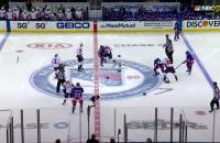 IJshockeyers vechten NHL fight Washington Capitals New York Rangers hard ijs vechten knokken