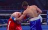 Bokser KO leverstoot Igor Ionov KO knockout