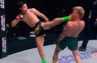 Tawanchai KO ONE debuut Sean Clancy KO knockout headkick kaak