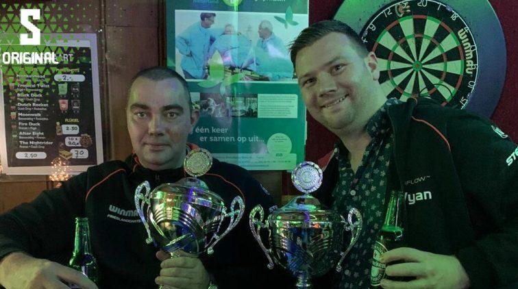 Frank Posthumus Darts Maraton Guinness Book of World Records Boos Nalatig Oplichters Wachten Engelsen