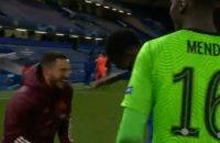 Eden Hazard reactie lachen met Chelsea spelers na uitschakeling CL Real Madrid sorry excuses