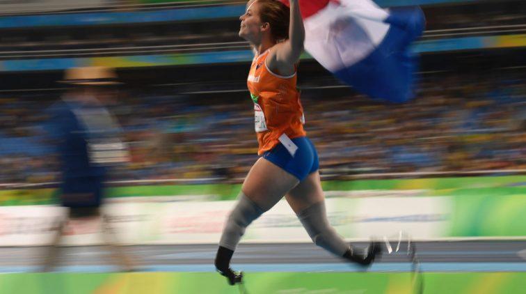 Blade babe Marlou van Rhijn Tokio Olympische Spelen