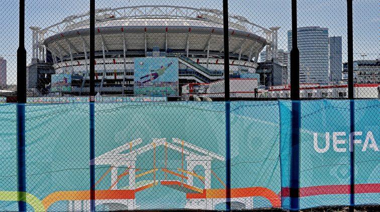 hoeveel supporters welkom in stadions tijdens EK voetbal