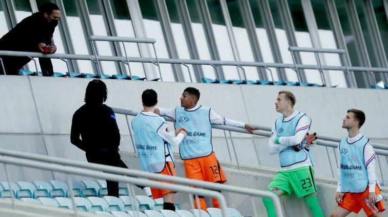 Virgil van Dijk-Oranje-Nederlands elftal