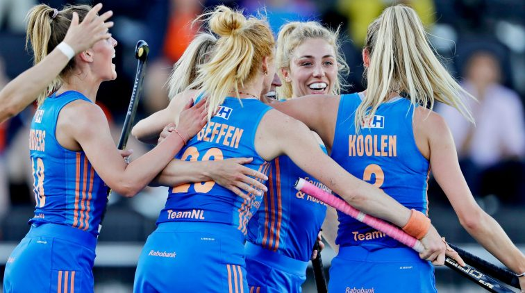 Nederland-Spanje-Hockey-EK-Amstelveen