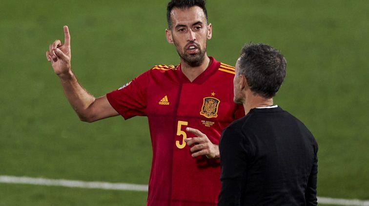 Sergio Busquets-Spanje