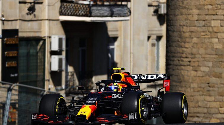 Verstappen Perez VT2 Baku