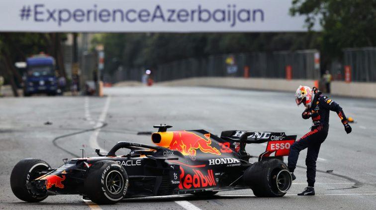 Verstappen Baku