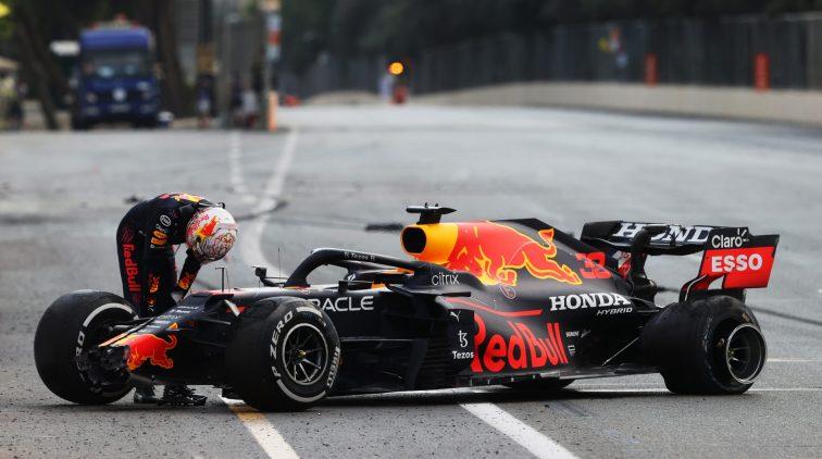 WK-stand F1 Verstappen