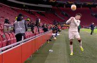 Ballenjongen Ajax UEFA Roma Standje Boete