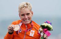 Jenette Jansen Bronzen medaille handbike tijdrit Paralympische Spelen Tokyo