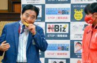 Goto Kawamura Gouden Medaille Bijten Olympische Spelen Corona