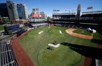 Moeder Klein Kind Peuter Verongelukt Overleden Petco Park Stadion MLB San Diego Padres