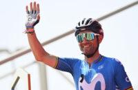 Alejandro Valverde Movistar Terugkeer Hersteld Sleutelbeenbreuk