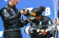 GP van Sochi Rusland Lewis Hamilton Toto Wolff 100ste overwinning zege