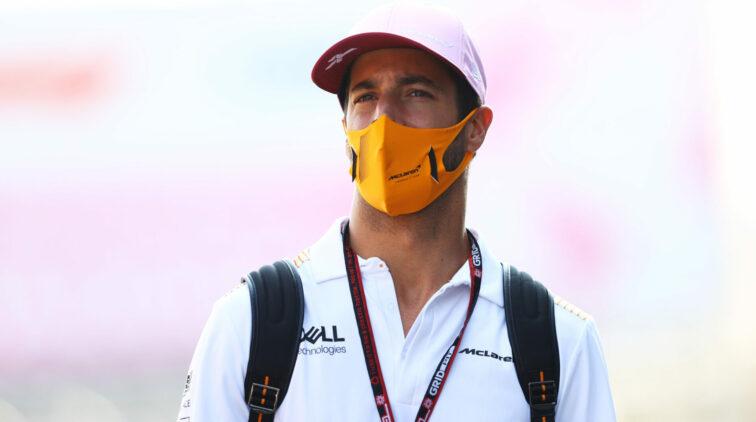 Daniel Ricciardo 1e Startrij GP Italie Monza