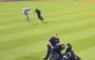 MLB LA Dodgers Protest Pitch Invader Veldbestormen Beveiliging Security