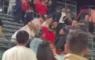 Los Angeles Angels Of Anaheim MLB Fight Gevecht Op Tribune Fans Supporters