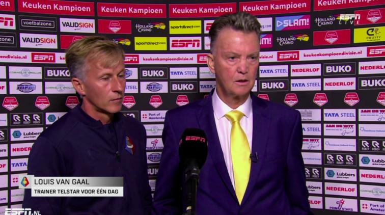 Andries Jonker Louis Van Gaal Telstar Jong AZ Interview ESPN Keuken Kampioen Divisie