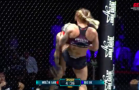 Samin Kamal Beik KO knockout Mad Queen Ewelina Wozniak