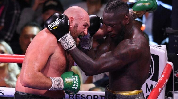 Tyson Fury KO Deontay Wilder Las Vegas Commissie 6 Maanden Niet Vechten