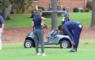 EX NBA Ster JR Smith Golf Toernooi Wespen Steek Aanval