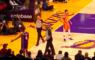 NBA Phoenix Suns La Lakers Rajon Rondo Fan Supporter Right Ruzie Pistool Gebaren